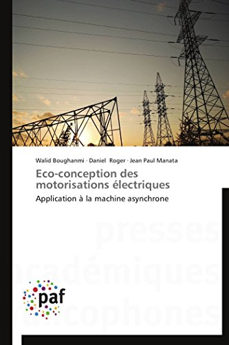 9783841620583: Eco-conception des motorisations électriques: Application à la machine asynchrone (Omn.Pres.Franc.) (French Edition)