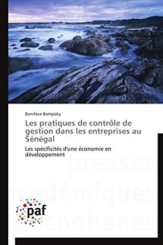 Les Pratiques de Controle de Gestion Dans Les Entreprises Au Senegal: Boniface Bampoky