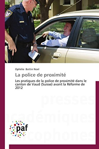 9783841629562: La police de proximité (French Edition)