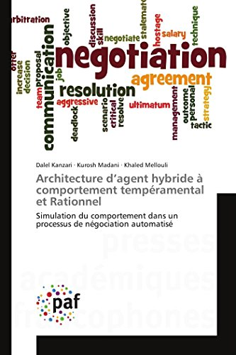 9783841632814: Architecture d'agent hybride à comportement tempéramental et Rationnel (OMN.PRES.FRANC.)