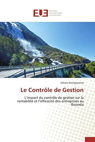 9783841660084: Le contrôle de gestion (Omn.Univ.Europ.) (French Edition)