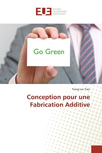 9783841663290: Conception pour une Fabrication Additive (Omn.Univ.Europ.) (French Edition)