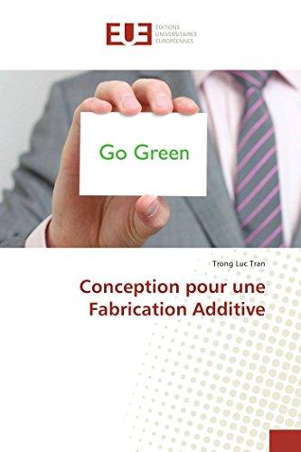 9783841663290: Conception Pour Une Fabrication Additive