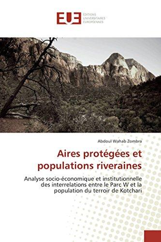 9783841663733: Aires protégées et populations riveraines (Omn.Univ.Europ.) (French Edition)
