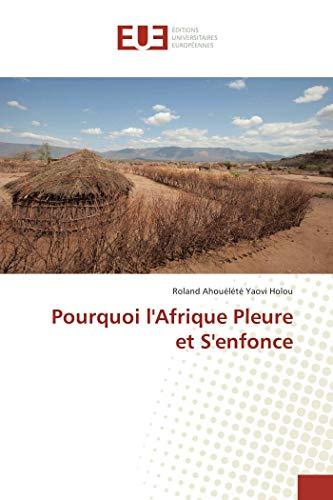 9783841664129: Pourquoi l'Afrique Pleure et S'enfonce (French Edition)