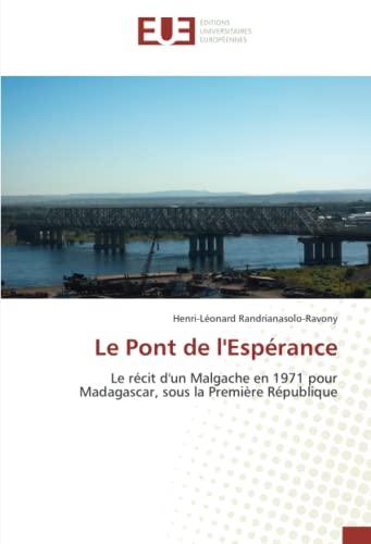 9783841665034: Le Pont de l'Espérance (French Edition)
