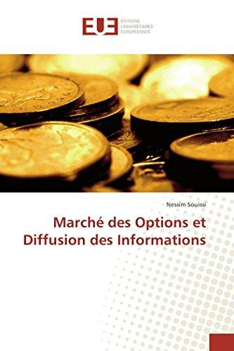 9783841665317: Marche Des Options Et Diffusion Des Informations