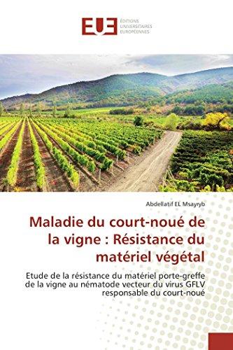Maladie Du Court-Noue de La Vigne: Resistance: El Msayryb Abdellatif