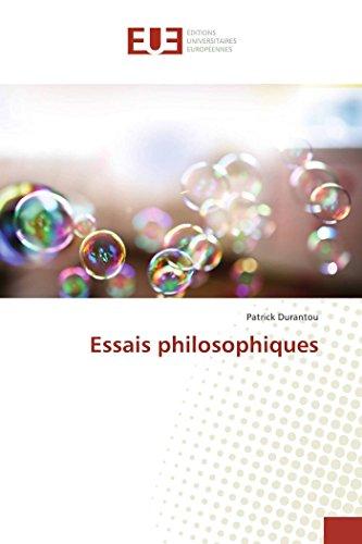 9783841674975: Essais philosophiques (OMN.UNIV.EUROP.)
