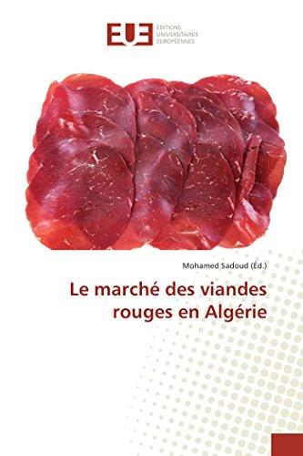 9783841676276: Le marché des viandes rouges en Algérie (Omn.Univ.Europ.) (French Edition)