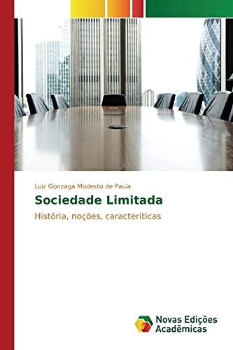 9783841703675: Sociedade Limitada: História, noções, caracteríticas (Portuguese Edition)
