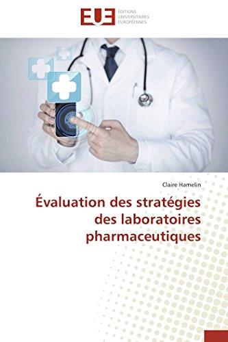9783841742599: Évaluation des stratégies des laboratoires pharmaceutiques