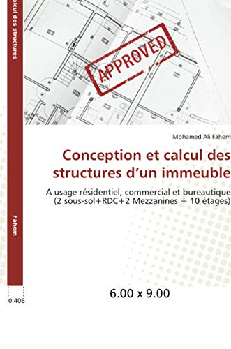 9783841746610: Conception et calcul des structures d'un immeuble (Omn.Univ.Europ.) (French Edition)