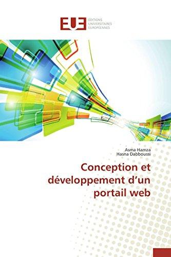 9783841747648: Conception et développement d un portail web (OMN.UNIV.EUROP.)