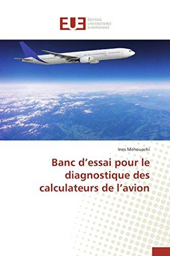 9783841748140: Banc D'Essai Pour Le Diagnostique Des Calculateurs de L'Avion