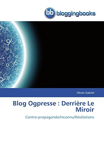 Blog Ogpresse: Derriere Le Miroir: Olivier Gabriel