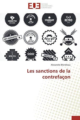 9783841782847: Les sanctions de la contrefaçon