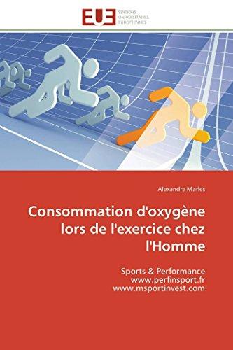 Consommation d'oxygène lors de l'exercice chez l'Homme: Alexandre Marles