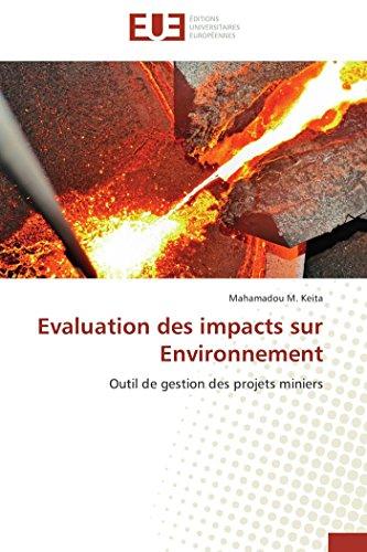 9783841790415: Evaluation des impacts sur Environnement: Outil de gestion des projets miniers (French Edition)
