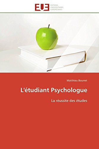 L'�tudiant Psychologue (Paperback): Bourret-M