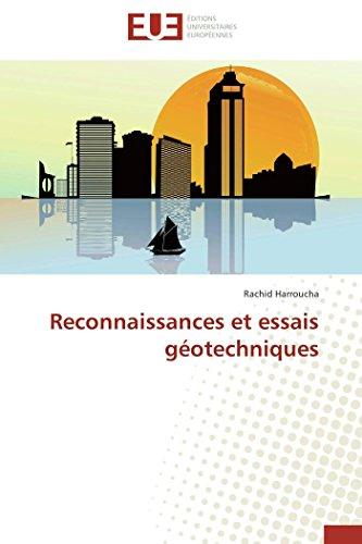 9783841794369: Reconnaissances et essais géotechniques