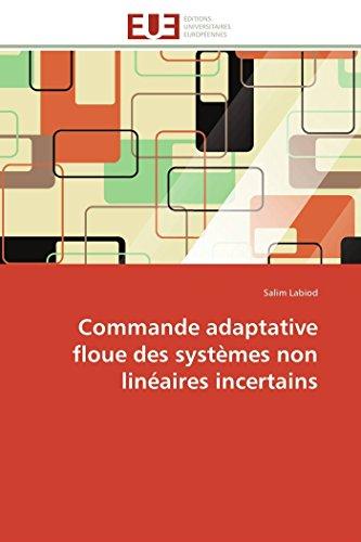 Commande adaptative floue des systèmes non linéaires incertains (Omn.Univ.Europ.) (...