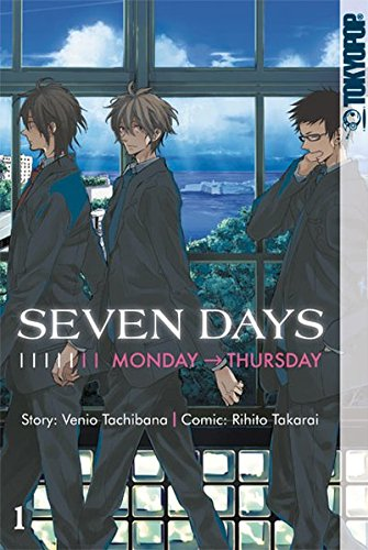 9783842000469: Seven Days 01: Monday - Thursday