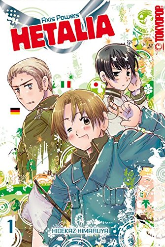 9783842004702: Hetalia - Axis Powers 01