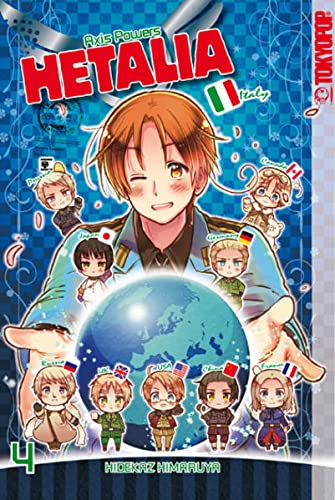 9783842004733: Hetalia - Axis Powers 04