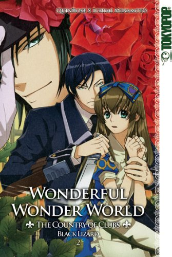 9783842006621: Wonderful Wonder World - The Country of Clubs: Black Lizard 02