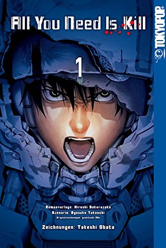 9783842010550: All You Need Is Kill Manga 01: The Edge of Tomorrow