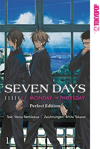 9783842013216: Seven Days Perfect Edition 01
