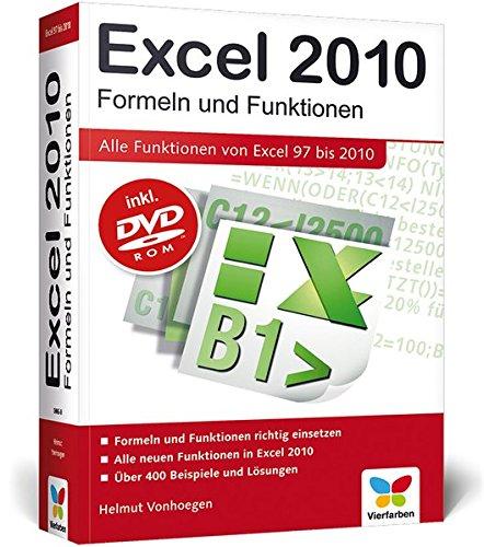 9783842100060: Excel 2010. Formeln und Funktionen