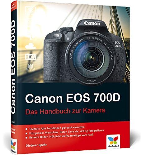 9783842101050: Canon EOS 700D: Das Handbuch zur Kamera