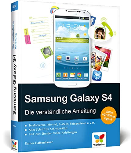 Samsung Galaxy S4 Samsung Galaxy S4: Die verstandliche Anleitung. Apps, Internet, E-Mails, Rainer Hattenhauer, New, 9783842101104 Brand new book, sourced directly from publisher. Dispatch time is 24-48 hours from our warehouse. Book will be sent in robust, secure packaging to ensure it reaches you securely.