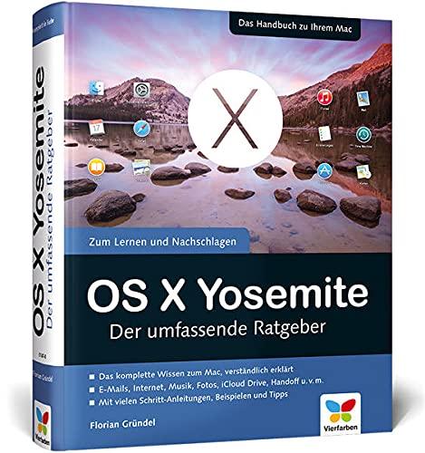 9783842101470: OS X Yosemite: Der umfassende Ratgeber
