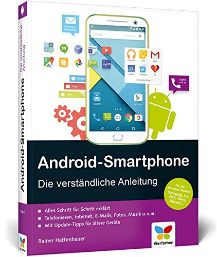 9783842101555: Android-Smartphone: Die verständliche Anleitung - für Android 5 Lollipop