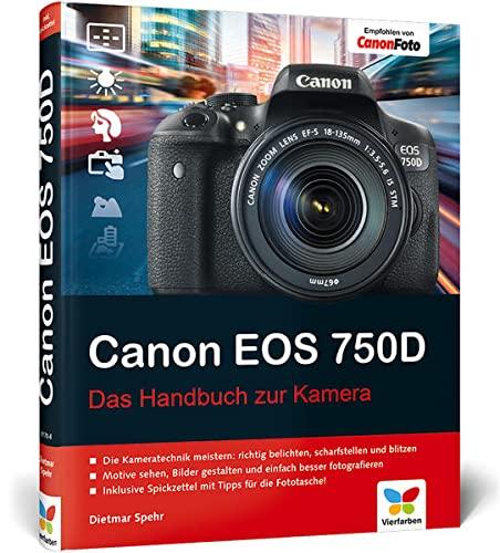 9783842101708: Canon EOS 750D