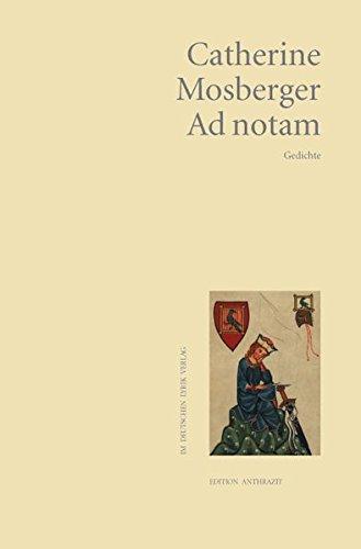 9783842240162: Ad notam: Gedichte