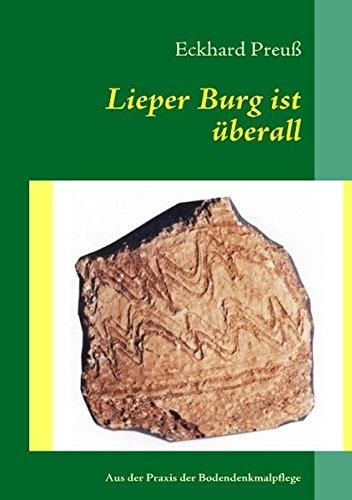9783842327658: Lieper Burg ist �berall