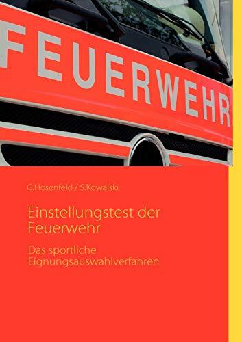 9783842350601: Einstellungstest der Feuerwehr (German Edition)