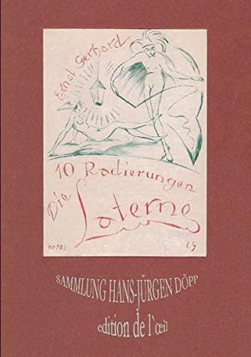 9783842362611: Ernst Gerhard, Die Laterne: 10 erotische Radierungen, Berlin 1925