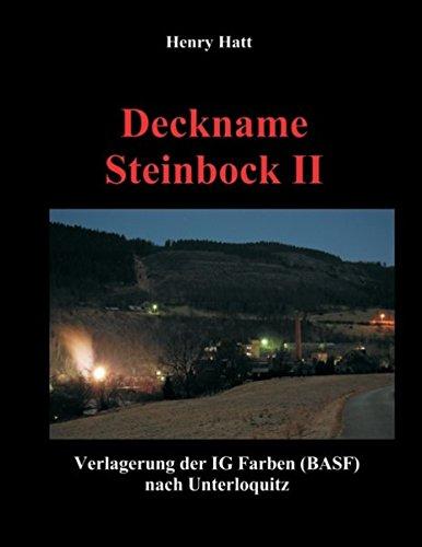 9783842375109: Deckname Steinbock II (Zingel, Molchfisch) (German Edition)