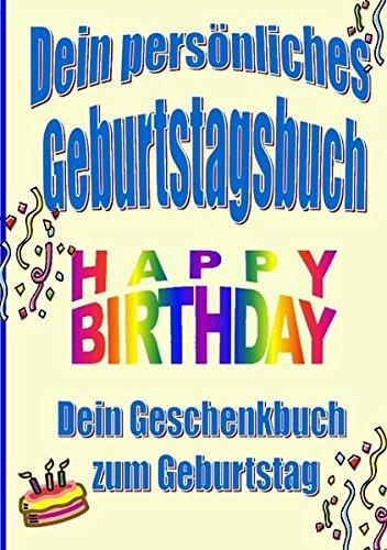 9783842376854: Dein persönliches Geburtstagsbuch (German Edition)