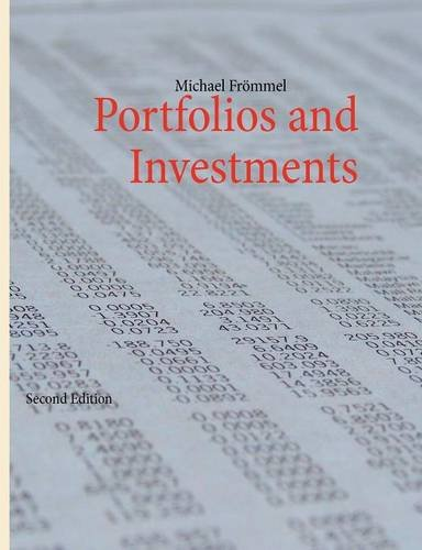 9783842381988: Portfolios and Investments