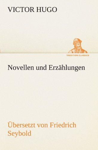 9783842406186: Novellen und Erzählungen (TREDITION CLASSICS)