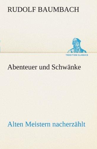 9783842414488: Abenteuer und Schwänke (TREDITION CLASSICS)