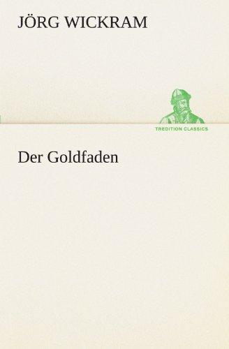 9783842417540: Der Goldfaden (TREDITION CLASSICS)