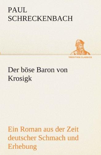 9783842419605: Der böse Baron von Krosigk (TREDITION CLASSICS)