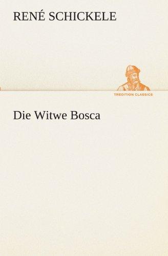 9783842419971: Die Witwe Bosca (TREDITION CLASSICS)